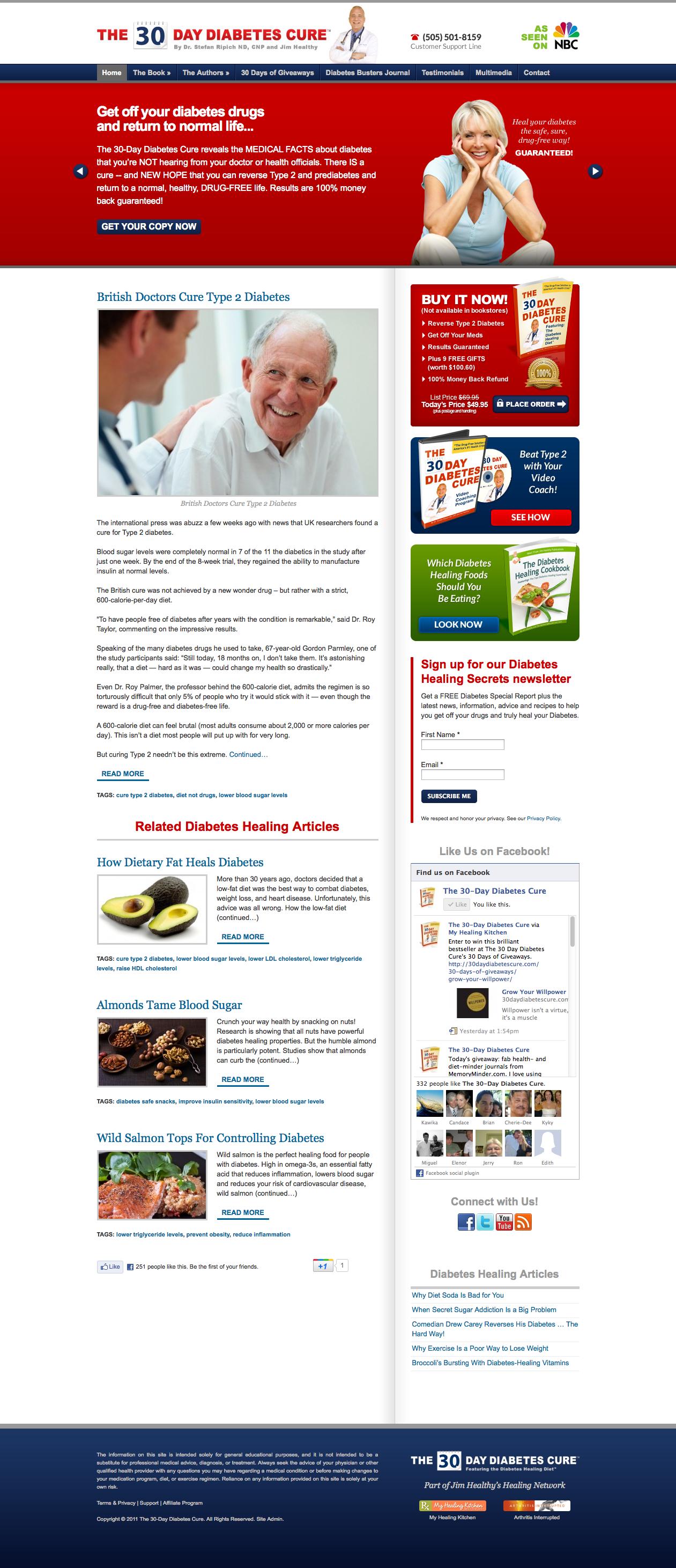 Amazon.com: The 30 Day Diabetes Cure eBook: Jim Healthy, Stefan Ripich:  Kindle Store