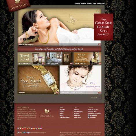 Gold Silk Web Site