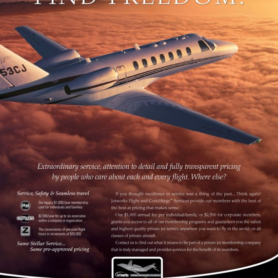 Jetworks Corporation Advertisement