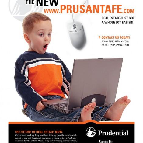 Prudential Santa Fe Real Estate Advertisement