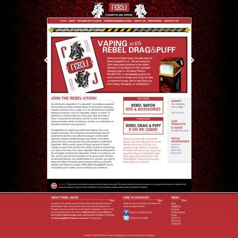 Rebel Drag&Puff Web Site