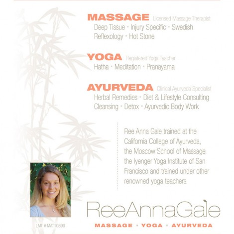 Ree Anna Gale Flyer