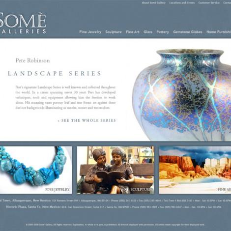 Somé Galleries Web Site