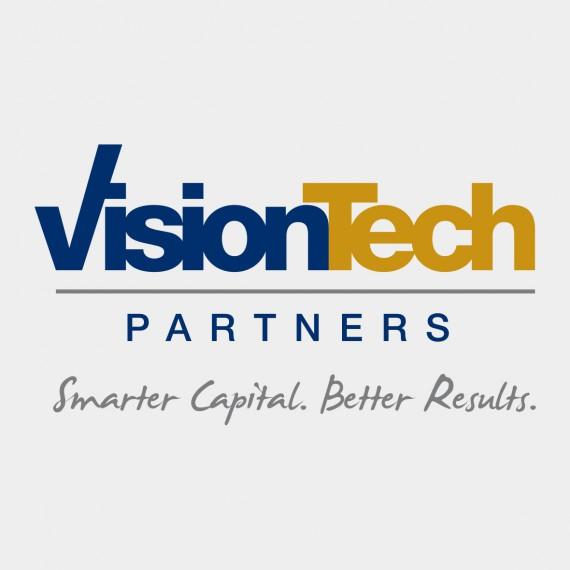 visiontech partners logo design and wordpress website